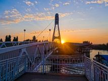 Krasnodar, bridge kisses Royalty Free Stock Photos