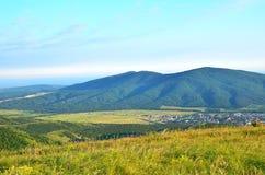 Krasnodar krai, Ryssland i sommar Arkivfoto