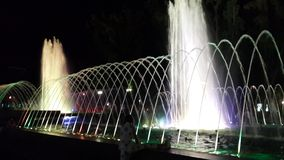 Krasnodar musical fountain2 zdjęcie stock