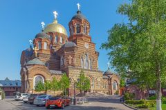 Free KRASNODAR, RUSSIA - MAY 2, 2017: St. Catherine`s Cathedral. Royalty Free Stock Photos - 115680118