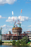 Krasnogorsk Rosja, Lipiec, - 09 2016 Budowy centrum biznesu VEGAS krokusa miasto Obrazy Stock
