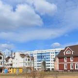 KRASNOGORSK, RUSLAND - APRIL 22.2015: Nieuw Stock Foto