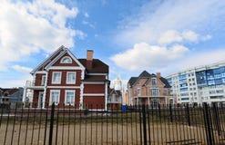 KRASNOGORSK, RUSLAND - APRIL 22.2015: Nieuw Stock Afbeelding