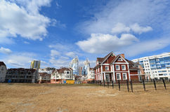 KRASNOGORSK, RUSLAND - APRIL 22.2015: Nieuw Royalty-vrije Stock Fotografie