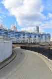 KRASNOGORSK, RUSSIE - AVRIL 22,2015 : Les secteurs de nouvelle construction dans les banlieues Domaine du développement résidenti images stock