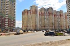 KRASNOGORSK, RUSSLAND - APRIL 22,2015: Krasnogorsk Stockfotografie