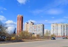 KRASNOGORSK, RUSSLAND - APRIL 22,2015: Krasnogorsk Lizenzfreies Stockfoto