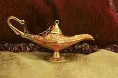 krasnoludek lampa Fotografia Royalty Free