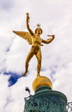 Krasnoludka Bastile kwadrata miejsce De Los angeles Bastille Paryż Francja Obraz Royalty Free