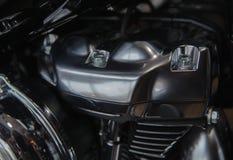 Krasnoyarsk, Россия - 24-ое ноября 2018: Деталь и логотип Harley - Davidson стоковое фото rf