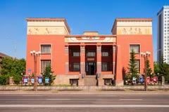 Krasnoyarsk Regionaal Lokaal Museum royalty-vrije stock fotografie