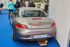 BMW Z4 rear royalty free stock image