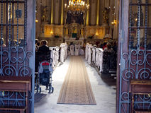 KRASNYSTAW, POLAND, AUGUST 23: The Church of St. Francis Xavier Royalty Free Stock Photo
