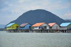 Krasowe góry Phang Nga zatoka Tajlandia zdjęcie stock