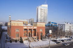 Krasoyarsk muzeum lokalna tradycja ludowa Zdjęcia Royalty Free
