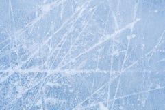 Krassen op de oppervlakte van ijs royalty-vrije stock afbeeldingen