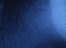 Krassend blauw Stock Foto