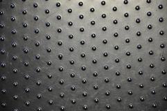 Kraste Vele ronde textuur van de metaalplaat Stock Foto