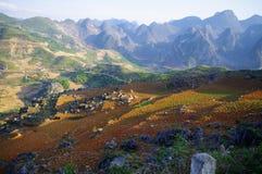 krasu krajobraz Zdjęcia Royalty Free