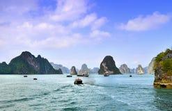 Krasu landform w morzu obrazy stock