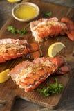 Kraszeni Piec homarów ogony Obraz Royalty Free