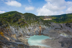 krater Stock Foto