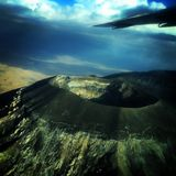 krater royaltyfria bilder