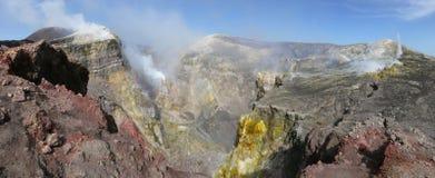 Krater av Etna Royaltyfri Fotografi