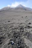 Krater av Etna. Sicily. Italien. Arkivfoto