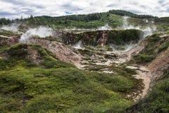 Krater av månen - Nya Zeeland Royaltyfria Bilder