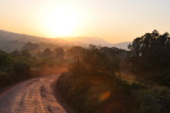Krater di Ngorongoro Fotografia Stock Libera da Diritti