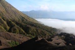 Krater góra Bromo Zdjęcia Stock