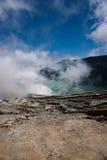 krater ijen arkivfoto