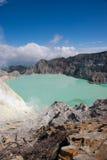 krater ijen fotografering för bildbyråer