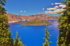 krater 2008 jezioro Oregon usa Obrazy Stock