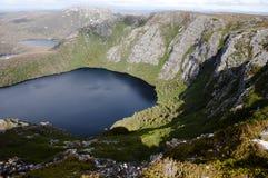 Krater jezioro - Tasmania Zdjęcie Royalty Free