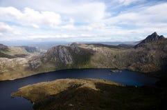 Krater jezioro - Tasmania Obrazy Stock