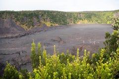 Krater Kilauea Iki lizenzfreies stockbild
