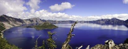 Krater Lake, Oregon Arkivbild