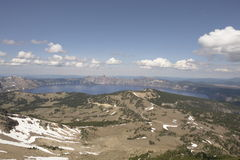 Krater Lakenationalpark Royaltyfri Foto