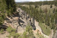 Krater Lakenationalpark Arkivfoto