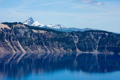 Krater Lakenationalpark Royaltyfria Foton