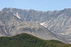 Krater Mt St Helens przy słonecznym dniem Fotografia Stock