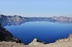 Krater sjönationalpark, Oregon, USA Fotografering för Bildbyråer
