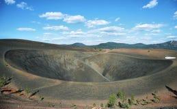 Krater von Cinder Cone, vulkanischer Nationalpark Lassens Stockfoto