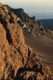 kraterhaleakala Royaltyfri Bild