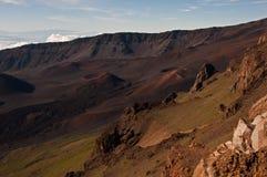 kraterhaleakala Royaltyfri Fotografi