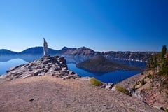 kraterlake Royaltyfri Fotografi
