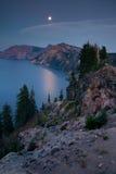 kraterlake 2008 oregon USA royaltyfria bilder