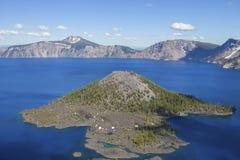 kraterlake 2008 oregon USA Arkivfoton